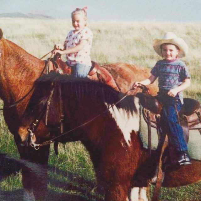 Happy nationalsiblingsday to instabrettt ! PS thats my horse yourehellip